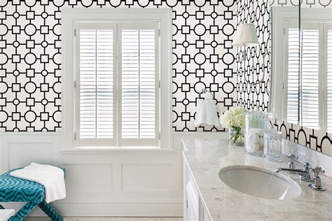 Designer Bathroom Wallpaper by Modern Bathroom Wallpaper Gallery
