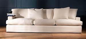 canape tissu haut de gamme penthouse 25 3 places au With canapés en tissus design