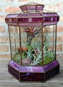 Stained Glass Terrariums for Sale
