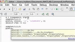 Matlab Command Line Plotting  Part 3