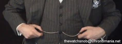 chronomania comment porter une montre gousset
