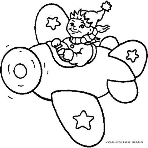 airplane color page HEAPS of colouring pages lots of