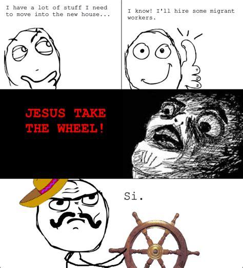 Jesus Take The Wheel Meme - image 194926 jesus take the wheel know your meme