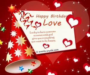 Birthday wishes for boyfriend - Festival Around the World