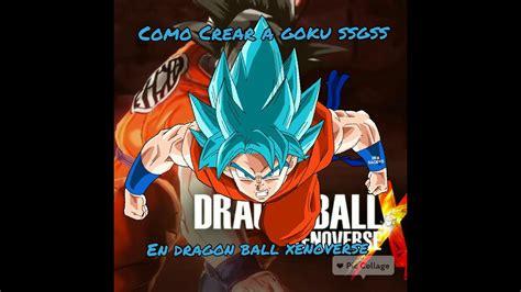 Tutorial Hacer A Goku Fnf Azul En Dragon Ball Xv Youtube