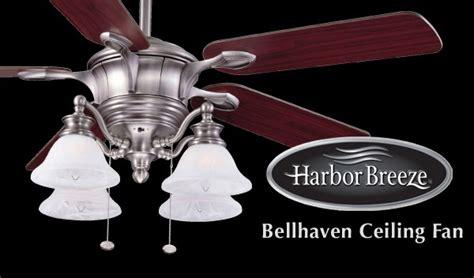 harbor breeze bellhaven ceiling fan