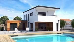 Maison Architecte Plan : meschers maisons elysees ocean ~ Dode.kayakingforconservation.com Idées de Décoration