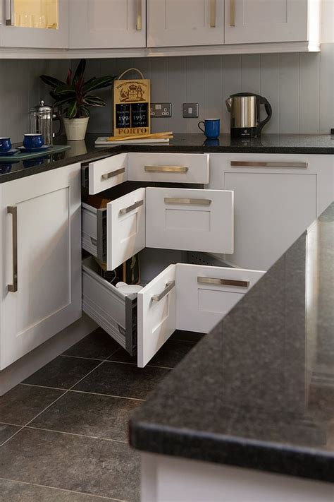 contemporary kitchen storage 30 corner drawers and storage solutions for the modern kitchen 2516