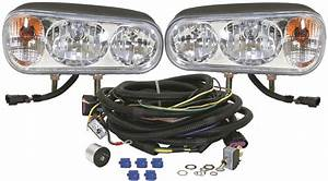 Buyers  U2013 Universal Snow Plow Light Kit  U2013 Foxtail Lights