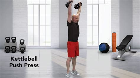 push press kettlebell