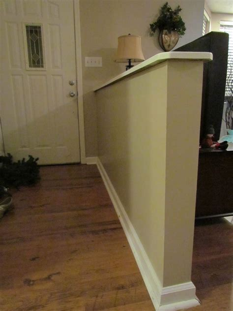 Foyer And Living Room Divider Ideas by Half Wall Entryway Search Entryway Half Walls