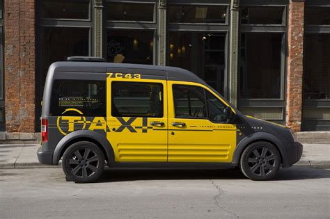 Ford Transit Connect Taxi Concept Photo Gallery Autoblog