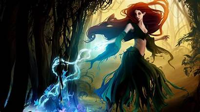 Witch Wallpapers Fantasy Backgrounds Computer Witchy Desktop