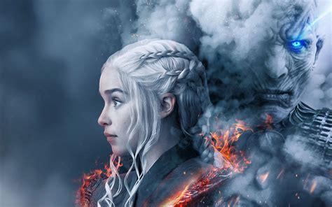 3840x2400 Game Of Thrones Season 8 Fan Poster 4k Hd 4k