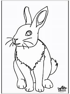 Kaninchen 4 Malvorlagen Nagetiere