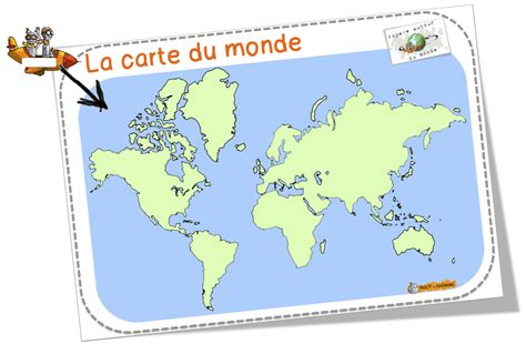 Carte Du Monde Vierge à Remplir Cm2 by Carte Du Monde Vierge Pour Ce2 My