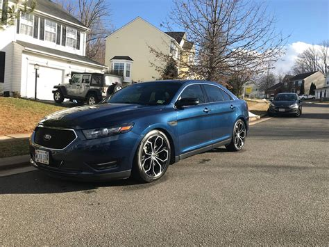 2016 Ford Taurus Sho 1/4 Mile Trap Speeds 0-60