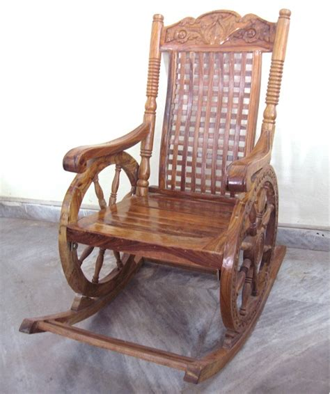 sheesham wood rocking chair used furniture for sale