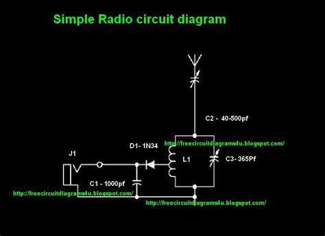 Free Circuit Diagrams Simple Radio Circit Diagram