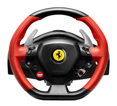 ferrari steering wheel volant xbox one ferrari 458 spider racing wheel