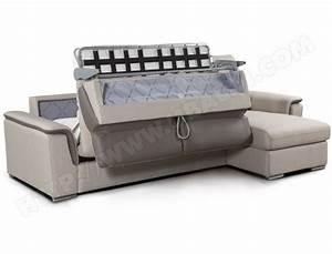 canape bz ubaldi decoration d39interieur table basse et With canapé d angle convertible avec matelas bultex