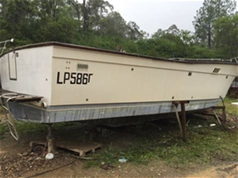 Boat Hull Project For Sale by Fiberglass 38 Ft Boat Chris Craft Unfinished Project