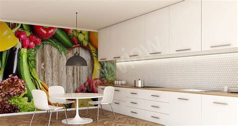 papiers peints cuisine une cuisine de bon goût papiers peints 3d appétissants