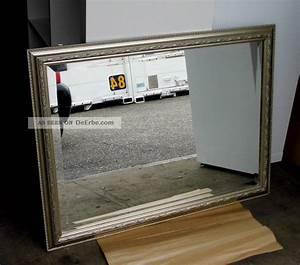 Spiegel 80 X 60 : baron manufaktur spiegel facette 60 x 80 cm rahmen antik silber ~ Bigdaddyawards.com Haus und Dekorationen
