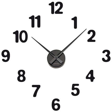 Uhr Mit Zahlen by Gro 223 E Zahlen Uhr Wandtattoo