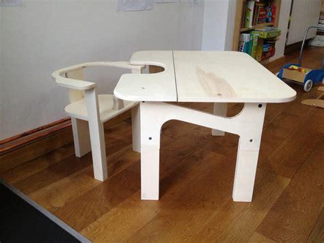 chaise table enfant table et chaise enfant par tetart sur l air du bois