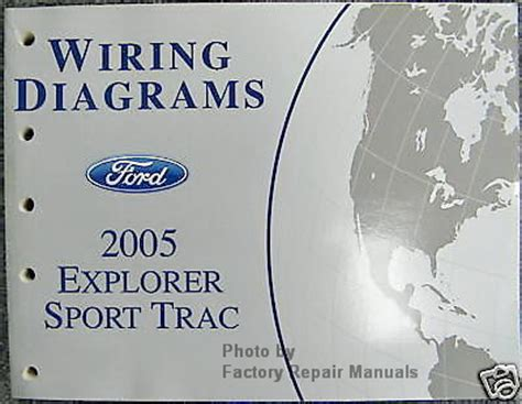 ford explorer sport trac electrical wiring diagrams