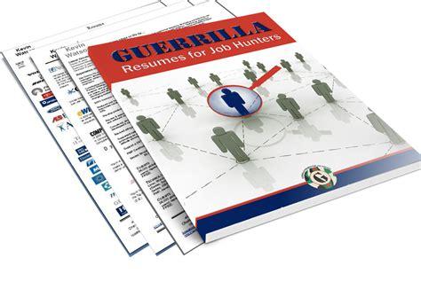guerrilla resumes guerrilla resume ebook