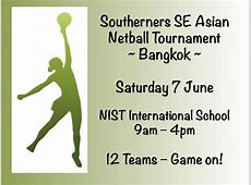 ** Netball Tournament ~ Date confirmed ** Southerners