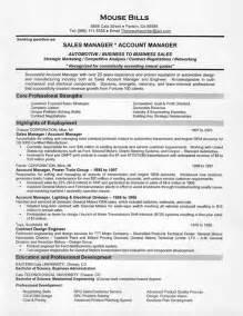 sle resume exles car sales resume exle