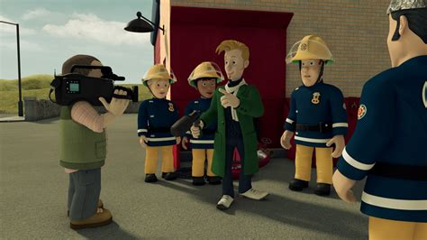 fireman sam alien alert  backdrops