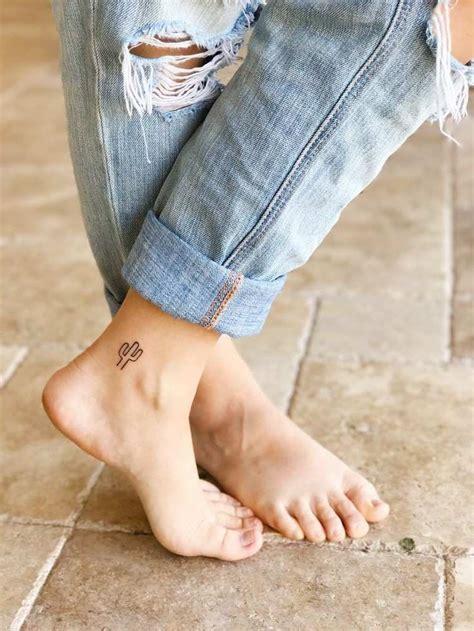 Tatouage Cheville  Petit, Délicat Et Parfait Pour L'été