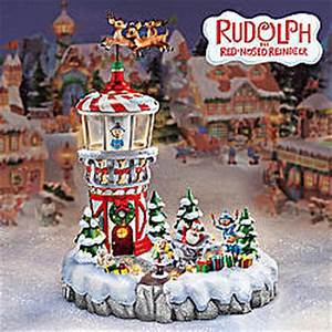 Rudolph s Christmas Town Tower FindGift