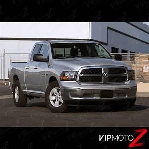 2009-2017 Dodge Ram 1500 2500 3500 Black FACTORY STYLE ...