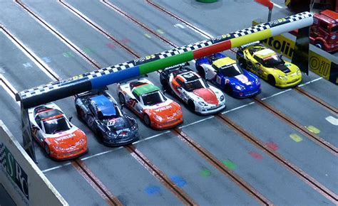Bolwextric Scalextric Slot Car Racing 9 Hours Endurance 2014