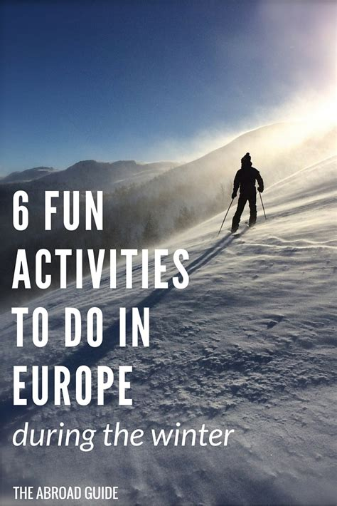 top fun activities    europe   winter