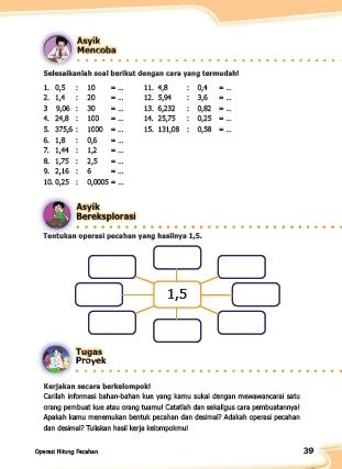 Untuk lebih jelasnya simak contoh soal tema 6 kelas 5 panas dan perpindahannya dan kunci jawaban tema 6 kelas 5 panas dan perpindahannya. Kunci Jawaban Buku Senang Belajar Matematika Kelas 5 ...