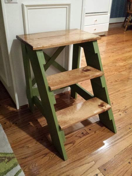 step stool  stain paint finish    home