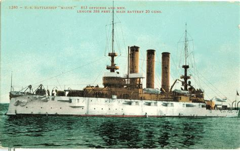 Sinking Of The Uss Maine Primary Sources by U S S Maine Quotes