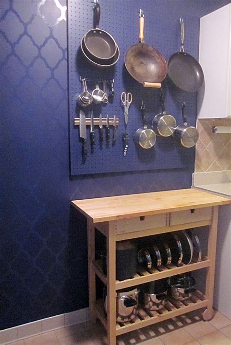 How To A Kitchen Pegboard Wall Organizer  Decorology