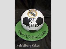 Football 1 Real Madrid 3D Soccerball Heidelberg Cakes