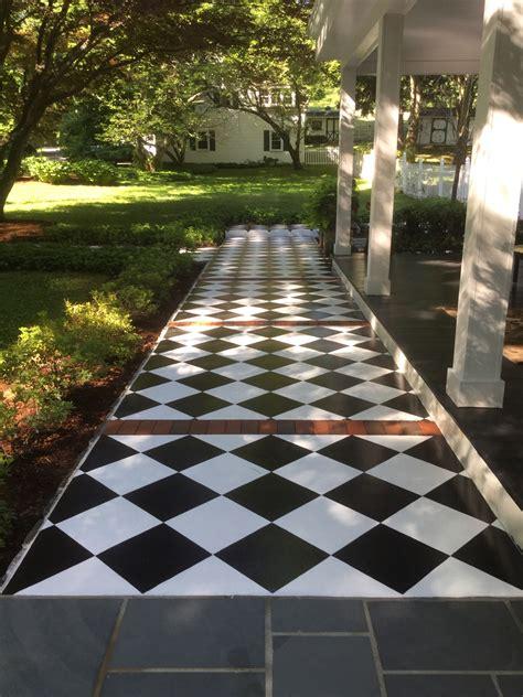 picturesque diamond concrete pathways newlook international