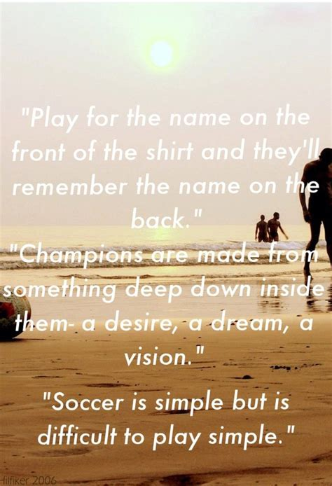 soccer quotes  love soccer quotes pinterest