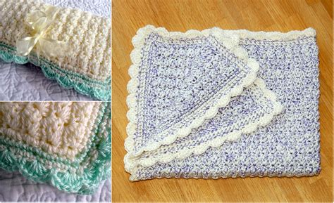 stunning simple crochet baby blanket pattern diy smartly