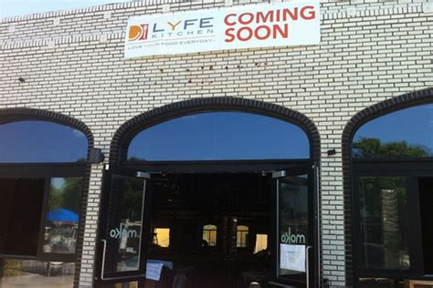 lyfe kitchen posted signage  week  culver city