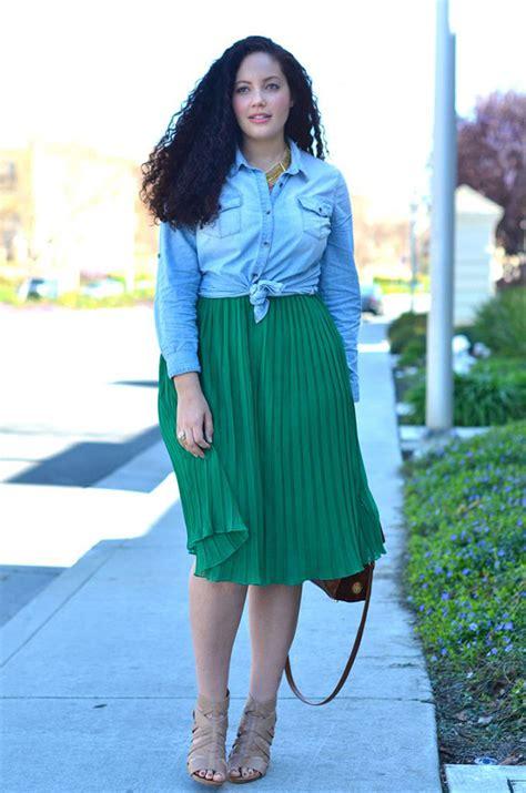 wear midi skirts  summer  fashiongumcom